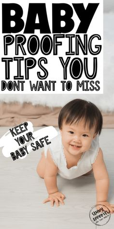 Looking for expert baby proofing tips to make your home safe for your crawler or toddler? Baby Safety, Child Safety, Safety Tips, Good Parenting, Parenting Hacks, Building Self Esteem, Eco Baby, Crawling Baby, Baby Gates