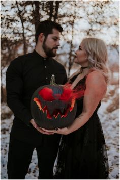 Greta and Brooks Spooky Engagement Session Winter Engagement Photos, Engagement Pictures, Engagement Shoots, Engagement Photography, Themed Engagement Photos, Halloween Pictures, Couple Halloween, Wedding Photoshoot, Wedding Pictures