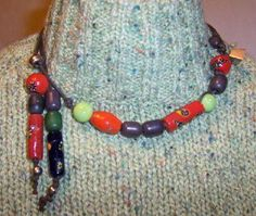 "Le collier "" message "" : http://joline.over-blog.com"