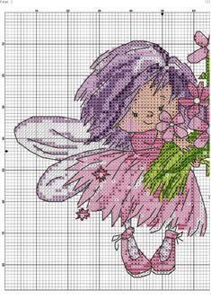 Baby Cross Stitch Patterns, Needlepoint Patterns, Cross Stitch Designs, Embroidery Patterns, Cross Stitch Fairy, Cross Stitch Angels, Counted Cross Stitch Kits, Cross Stitching, Cross Stitch Embroidery