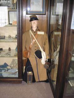display with half mannequin