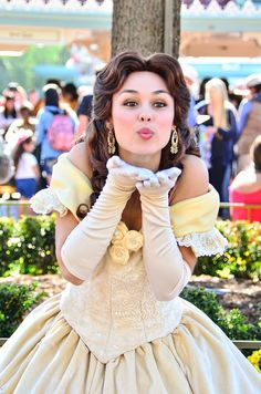 chef-mickeys:  Belle by EverythingDisney on Flickr.