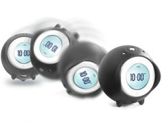 Tocky Runaway Alarm Clock  - http://www.gadgets-magazine.com/tocky-runaway-alarm-clock/