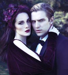 Mary and Matthew on the cover of Vanity Fair