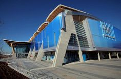 Richmond Olympic Oval 2010 Winter Olympics Speed Skating Venue  http://architecture.about.com/od/greatbuildings/ig/Stadium-and-Arena-Pictures/Richmond-Olympic-Oval.htm#step-heading