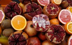 Pomegranates #Istanbul #travel #streetfood #foodies