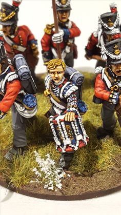 Protect the flag by Paul Downton (Front Rank miniatures)