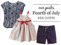 Fourth of July Kids Outfits - #4thofJuly