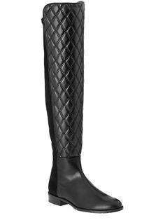 Stuart Weitzman Quilted Boots
