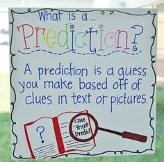 my prediction...? this would look great on the walls of my classroom.