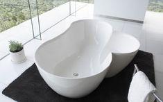 Modern Bathtub Interior by Spiritual Mode finally! a bathtub I can get in and OUT of lol. Dream Bathrooms, Small Bathroom, Bathroom Ideas, Master Bathroom, Beautiful Bathrooms, Bathtub Ideas, White Bathrooms, Master Baths, Bathroom Inspiration