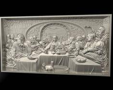 2 3D Models STL for CNC Router Artcam Aspire Landscape Stones Panel Cut3D Vcarve