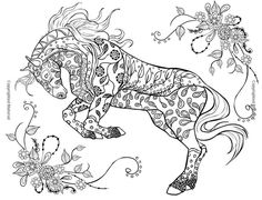 Buy Coloring Books Adults Beautiful World Of Horses Artist Pages Paint Relax Stress At Online Store