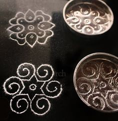 Rang-Decor {Interior Ideas predominantly Indian}: doily patterns with templates