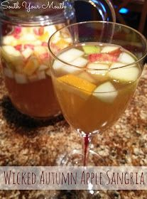 South Your Mouth: Wicked Autumn Apple Sangria