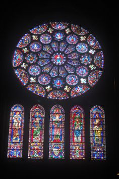 Cathedral stained glass windows