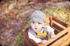 This little guy is so adorable!!!!!!Boys Gray Tweed Textured Newsboy Crochet by KerensHatBoxBoutique, $23.00