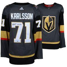 ee4ef816aa49 Shareasale.com · NhlLätkäTuotteet. William Karlsson Vegas Golden Knights  Fanatics Authentic Autographed Black Adidas Authentic Jersey ...