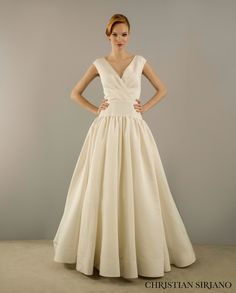 New Christian Siriano for Kleinfeld Fall Red Wedding DressesModest