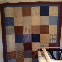 Another awesome quilt by Debra , #longarmquilted by #sweetonstitches #longarmquilter #longarmquilting #leafStitchPattern