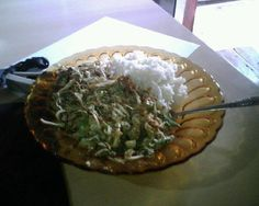 Karedok or keredok is the typical food of Indonesia. Karedok made with ingredients such as raw vegetables; cucumber, bean sprouts, cabbage, long beans, basil, and eggplant. While the sauce is peanut sauce made from red peppers, garlic, kencur, peanuts, tamarind water, sugar, salt, and shrimp paste.