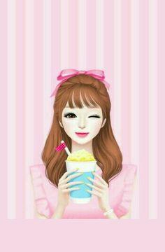 105 Best Lovely doll images  Lovely girl image, Art girl, Korean