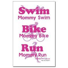 Triathlon Mommy triathlon