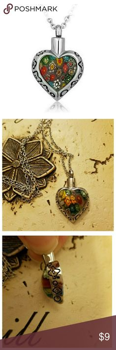 Heart Urn Necklace, Cremation Beautiful Urn Necklace Jewelry Necklaces