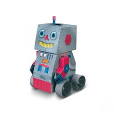 Robot à assembler (DIY robot) €17, MyLittleSquare.com