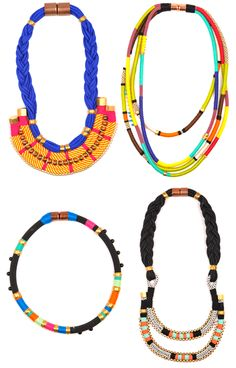 """Holst + Lee Necklaces - A friend I grew up with is the """"Holst"""" of this line!  :)"""