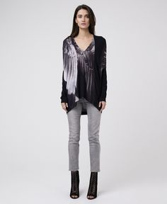 FORCE TOP - JET BLACK - New In - Womens - £42.50