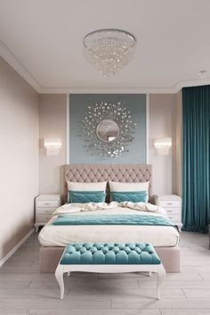 11 Modern and Luxurious Bedrooms With Baroque Style 01 Romantic Farmhouse Master Bedroom Ideas 53 Modern Bedroom Design Ideas That Very Recommended This Year Simple Bedroom Design, Luxury Bedroom Design, Bedroom Designs, Bed Design, Master Bedroom Design, Design Case, Luxury Master Bedroom, Romantic Bedroom Design, Romantic Bedding