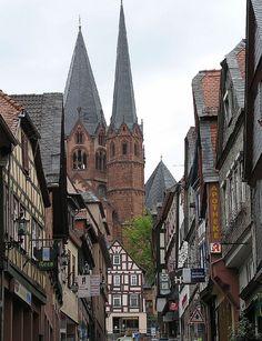 Gelnhausen, cidade no estado de Hesse, na Alemanha.