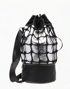 Bershka Sportswear Mesh backpack
