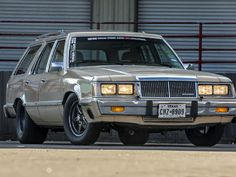 Underneath the factory sheetmetal and grandma-issue tan paint, beats a swapped LS engine, complete with 80mm Borg Warner Turbo. http://www.hotrod.com/events/hot-rod-power-tour/2016/1606-this-turbocharged-sleeper-is-the-wagon-you-never-saw-coming?utm_source=rss&utm_medium=synergetic&utm_campaign=RSS