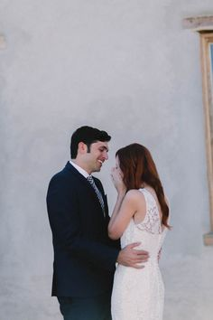 Emotional first look moment captured by Monica Mae Photography