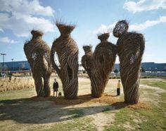 Гигантские «гнезда» Патрика Догерти