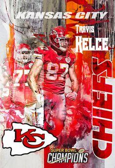 Nfl Kansas City Chiefs, Kansas City Chiefs Football, Nfl Football Teams, Football Art, Sports Teams, Nfl Quotes, Chiefs Wallpaper, Chiefs Super Bowl, Travis Kelce
