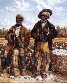 William Aiken Walker Calhoun's Slaves hand painted oil painting reproduction on canvas by artist African American Artist, American Artists, African Art, Black Art Pictures, Black Artwork, Black Women Art, Black Men, A4 Poster, Black Artists