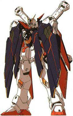 """XM-X1 Crossbone Gundam X-1 Kai Kai """"Skull Heart"""""""