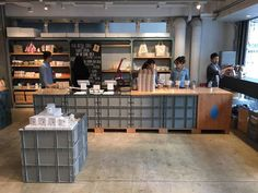 Blue bottle brewed only Japan pop up