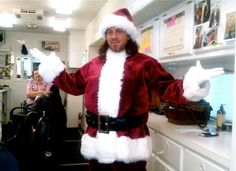 Awesome Christian Kane picture from #BTS of Leverage.. shared by Beth Riesgraf on facebook 12-23-2015
