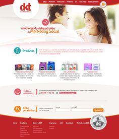 Site da DKT do Brasil, que possui a maior linha de preservativos e géis lubrificantes do país, seu portfólio conta hoje com mais de 40 itens. http://www.dkt.com.br