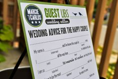 Activities for Wedding Guests while the camera is on the couple!