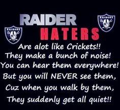 Raider haters