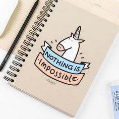 Impossible notebook
