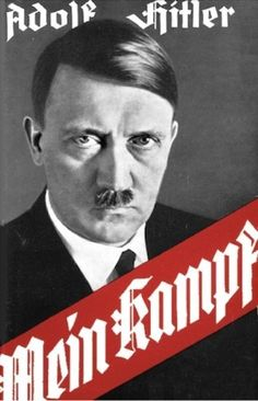 """18 Jul 25: Adolf Hitler's book """"Mein Kampf"""" is published, laying out a clear road map of Nazi ideology and the evil it will bring down on the world. Over ten million copies will be sold or distributed as mandatory reading throughout the Third Reich. Outside Germany, most will dismiss the book as nothing more than fanatical rhetoric. #WWII"""