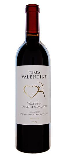 Terra Valentine  2008 Spring Mountain District Cabernet Sauvignon    This big, sexy, serious wine offers chocolate, spice and everything nice. Up front, its flavors are fruit-driven but then its dark, earthy notes emerge toward the back of the palate and linger on the finish. A wine this masculine deserves manly foods like buffalo short ribs or rosemary-crusted lamb shank.
