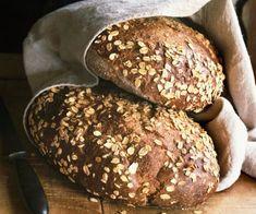 Rezept: Vollkorn-Haferflocken-Brot
