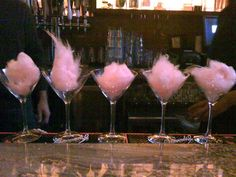Cotton Candy Martini - Perfect Idea for a Sweet Sixteen or Quinceañera